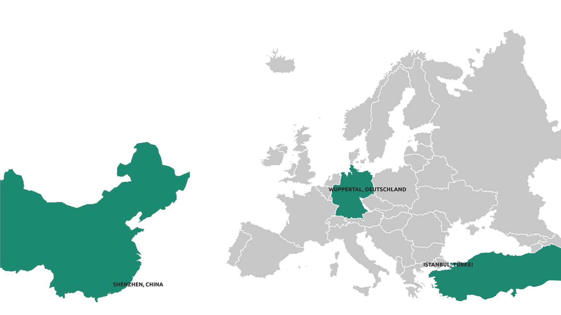 Protocast Europa Karte