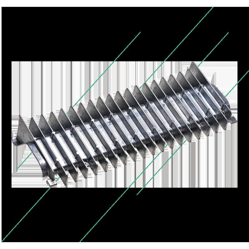Aluminium die-cast part